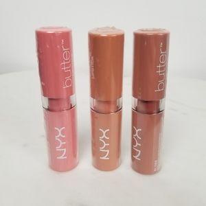 NYX Butter Lipsticks NEW
